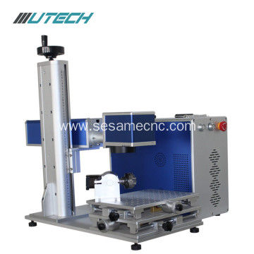 10W/20W/30W Laser marking machine for HDPE PVC