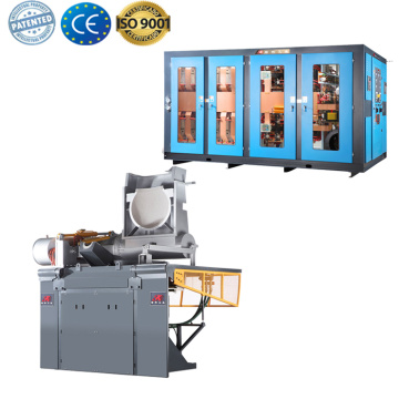 Induction furnace for bronze casting industry furnace