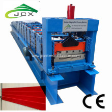 Aluminum roof cladding roll forming machine