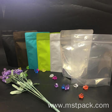 Colorful Stand Up Bag with Ziplock Wholesale