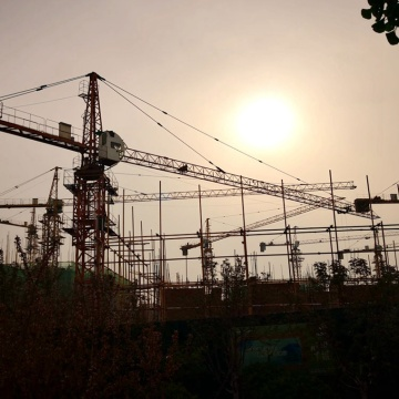how to build tower crane