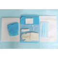 Single use sterile delivery kit
