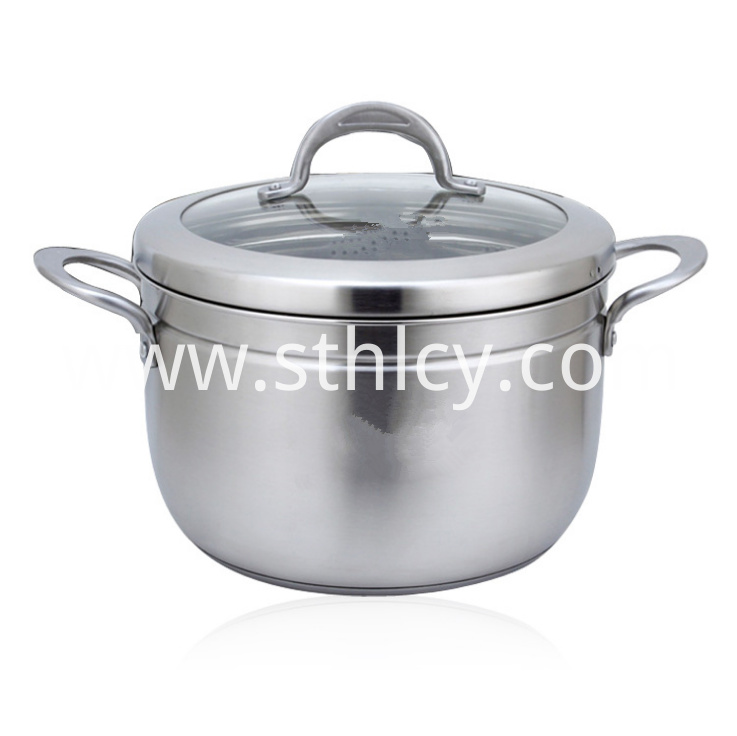 Stainless Steel Steamer Pot472zn