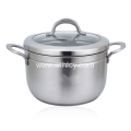 Stainless Steel Steamer Pot With Steamer Insert