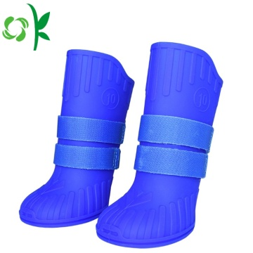 Dog Boots Silicone Non-slip Rain Waterproof Pet Shoes