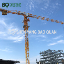 BQ GHP6520-10 10T Flat Top Tower Crane