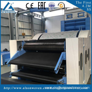 Hot selling ALSL-1850 juet carding machine cotton waste carding machine