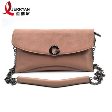 Bright Pink Clutch Bags Women Crossbody Handbags