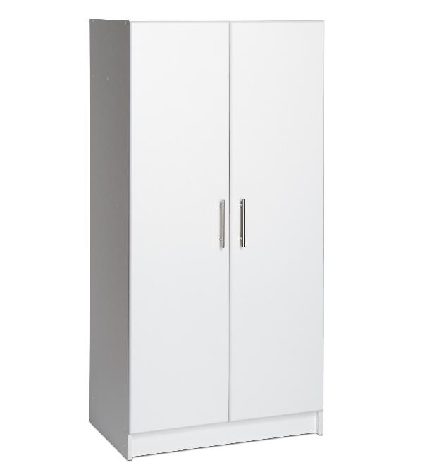 Simple Small white Wardrobe Cabinet Furniture Design
