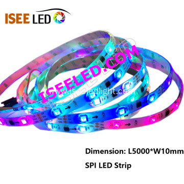 Addressable DMX512 Festival Decoration Flex Rope Light