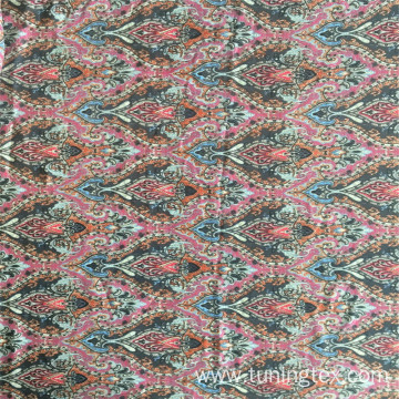 Rayon Big Cashew Print Fabric