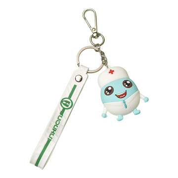 Cartoon Key Chain Doctor Shape Small Gift Keychain