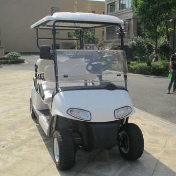 2+2 seat off road electric golf cart