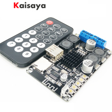 50W + 50W 4 - 8 ohms 12V Bluetooth Receive stereo power hifi Amplifier Board support MP3 WMA WAV FLAC With remote control G5-005