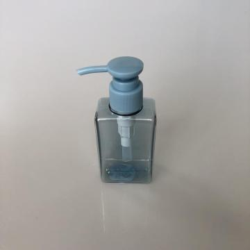 100ml square bottle with lotion pump