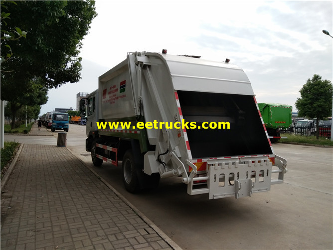 5000 Litres Rubbish Compactor Vehicles
