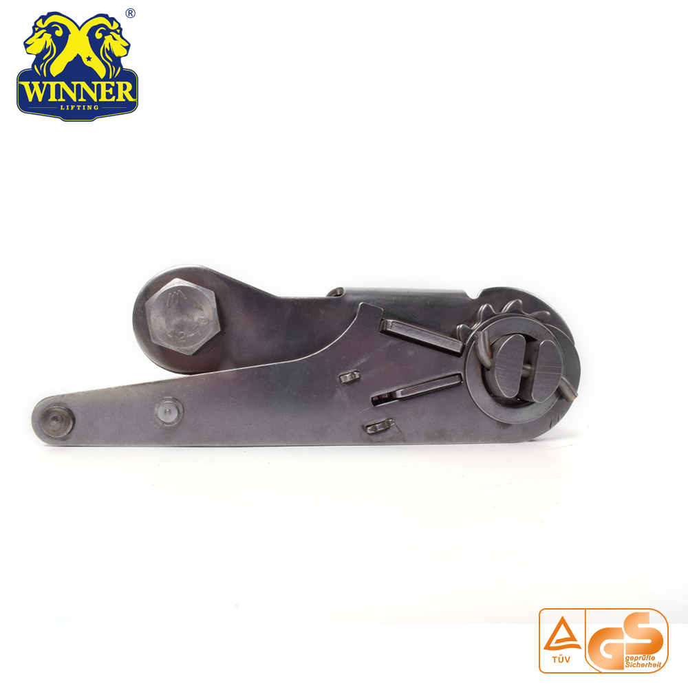"3"" Short Handle Steel Ratchet Buckle"