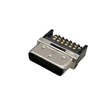 0.8mm Series Shielded 26P Cable Plug Connector Solder