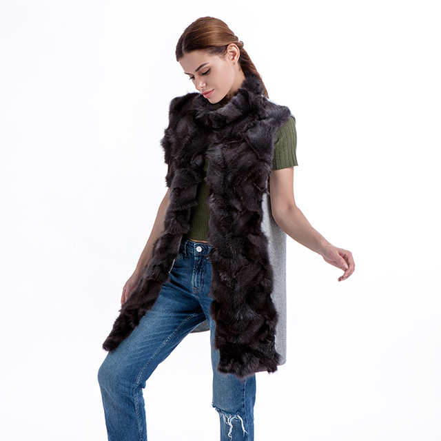Fashionable Fur Vest