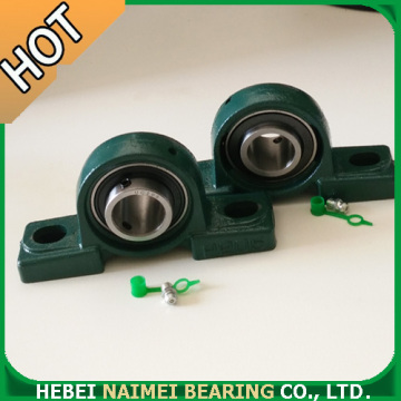 Plastic pillow block bearing with SUC ball bearing