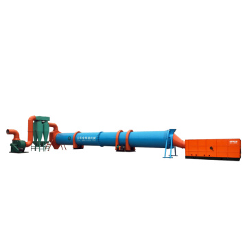 Sawdust Rotary Dryer Machine