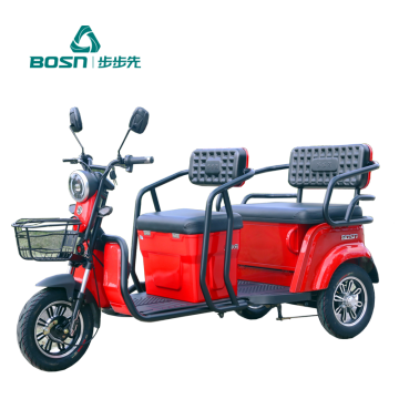 60V 800W High Quality Three Wheel electric tricycles