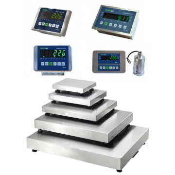 large platform weighing scales