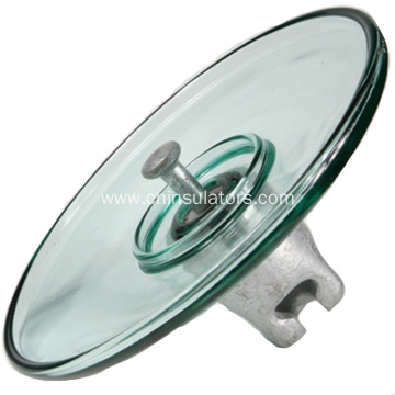 Open Air Profile Glass Insulator(LXAP-160-240)