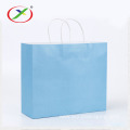 handle bag with round twist