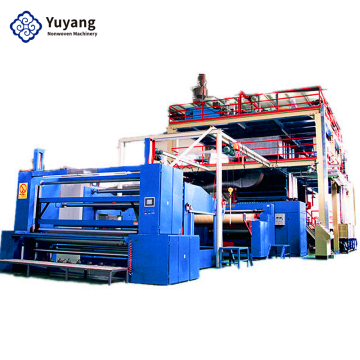 Protective clothing material making machine