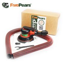 "FivePears Pneumatic Sanding Machine 125MM 5"" Eccentric 5MM Random Orbital Vacuum Air Sander Pneumatic Tools"