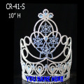 Snowflake Ice Blue Crystal Christmas Crowns