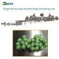 Twist Dog Treats Single Screw Extruding Processing Line