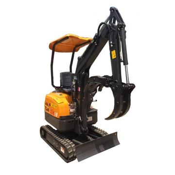 Irene  1.5 ton 1.6ton XN16crawler small digger mini excavator price for sale with factory prices