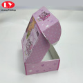 Custom Logo Pink Box Mailer Cosmetic Shipping Boxes