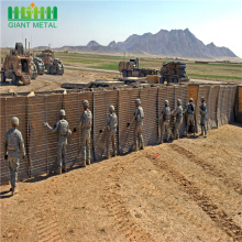 Military sand wall hesco barrier for erosion