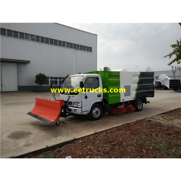 5000l 4x2 Airport Runway Sweeping Vehicles