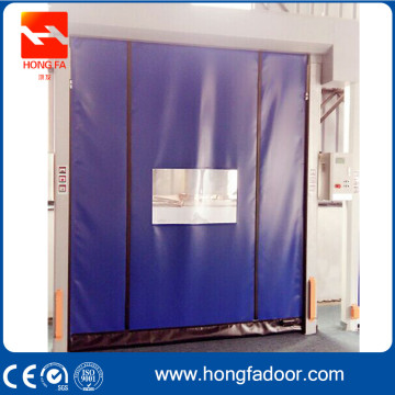 Automatic Repair PVC Curtain Roll Up Door