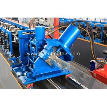 Light gauge steel frame villa roll forming machine
