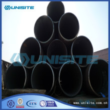 Longitudinal steel seam welded pipes