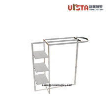 Metal Frame Hanging Clothes Rack