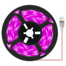 Full Spectrum LED Grow Light USB Grow Light Strip 0.5m 2m 3m 2835 SMD DC5V LED Phyto Tape for Seed Plants Flowers Greenhouses
