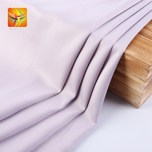 fashion colorful high elastic satin fabric