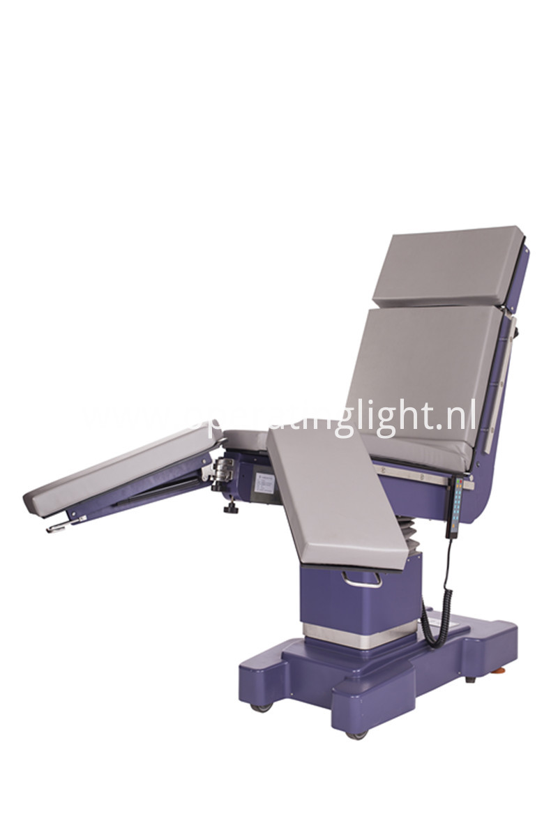 Electric hydraulic integrate operating table