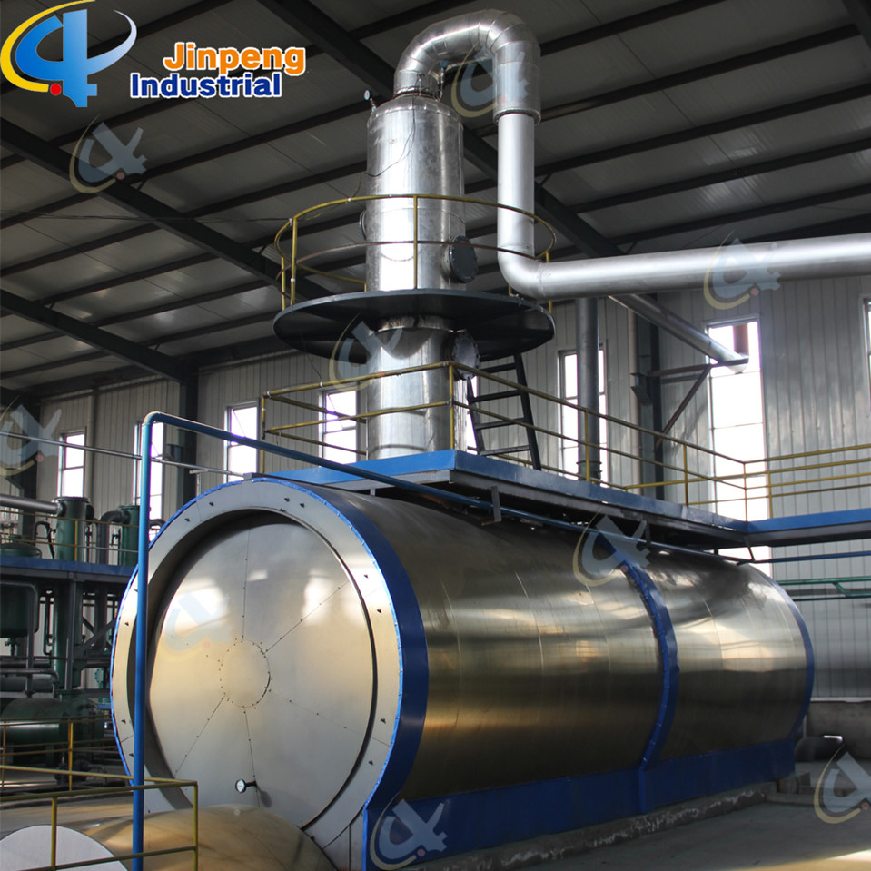 Waste Oil Distillation machine safety equipment