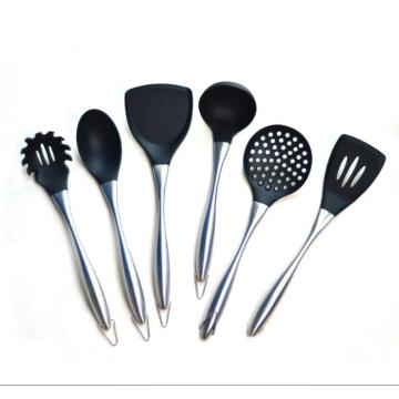 Stainless Steel Silicone Utensils