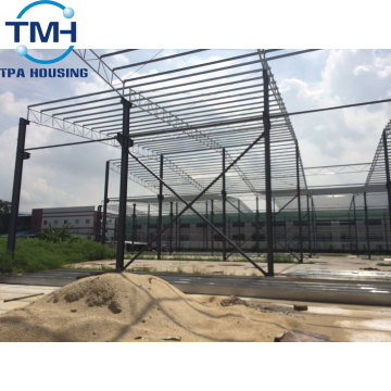 steel structure frame warehouse building manufacturing