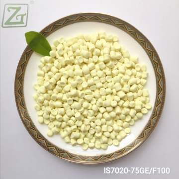 Granular Insoluble Sulfur IS7020 with High Dispersion