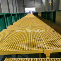 Fiberglass Dock Trench Grating Span Tables