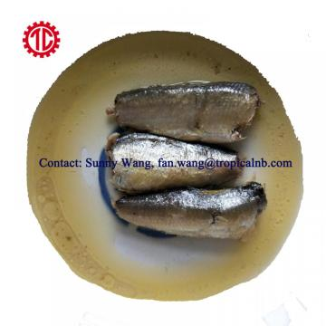 125g Club Can Packed Canned Sardine Fish In Vegetable Oil